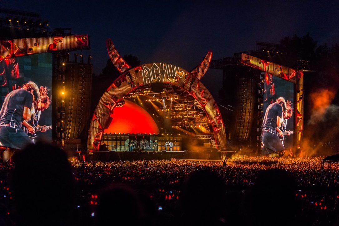 Gli AC/DC dal vivo a Imola nel 2015