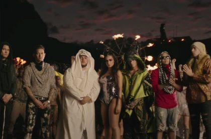 J Balvin Machika vid 2018 billboard
