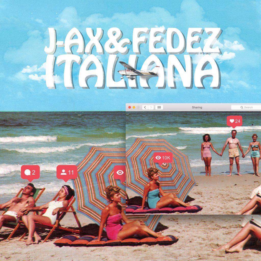 """La cover del singolo """"Italiana"""" di Fedez e J-Ax"""