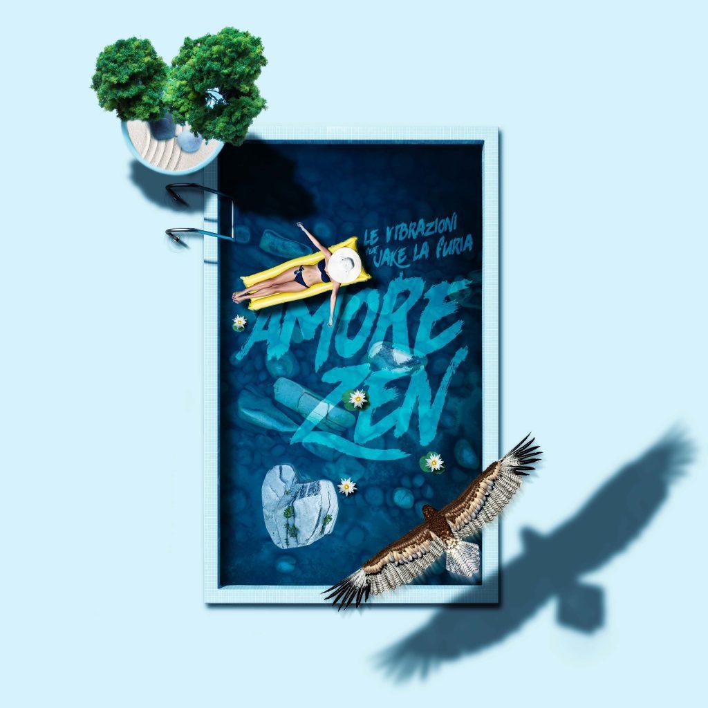 """La cover del singolo """"Amore Zen"""" de Le Vibrazioni feat. Jake La Furia"""