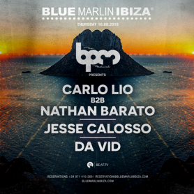 La line up dell'evento al Blue Marlin Ibiza