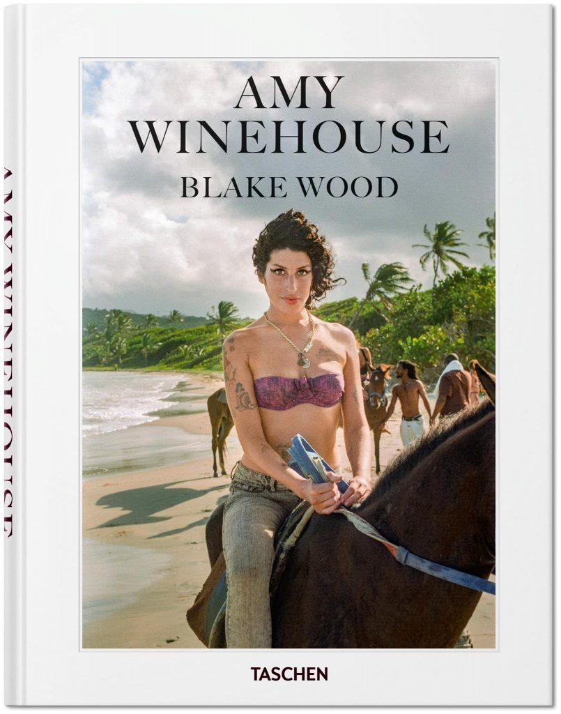 """La cover del libro """"Amy Winehouse - Blake Wood"""" in libreria per Taschen"""