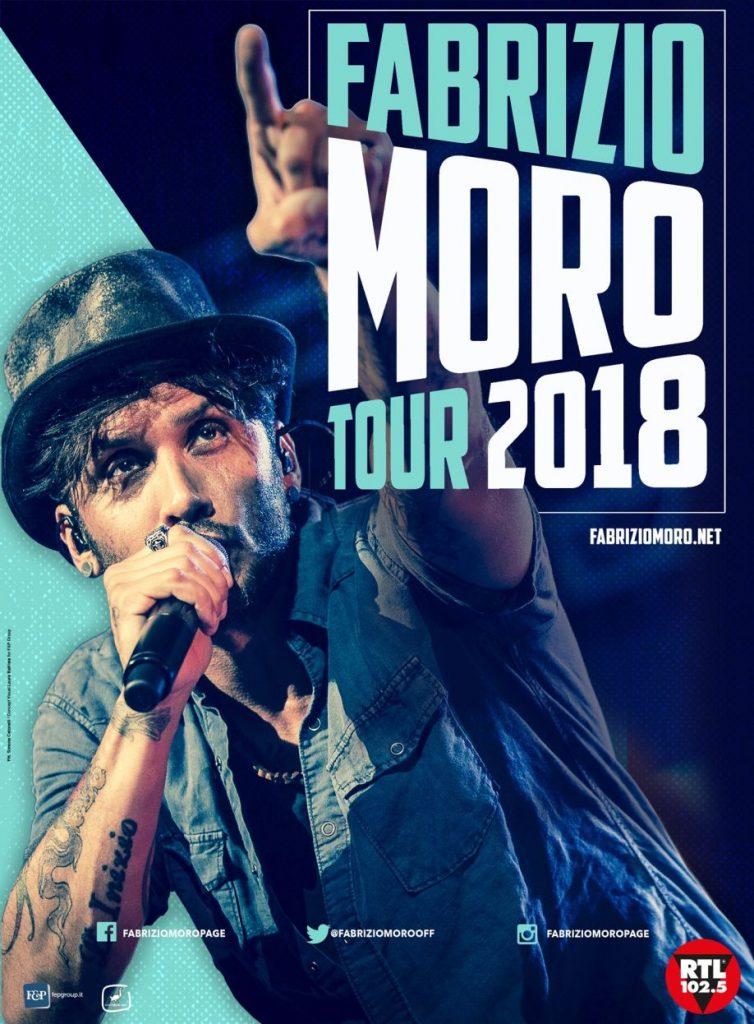 Fabrizio Moro, tour 2018