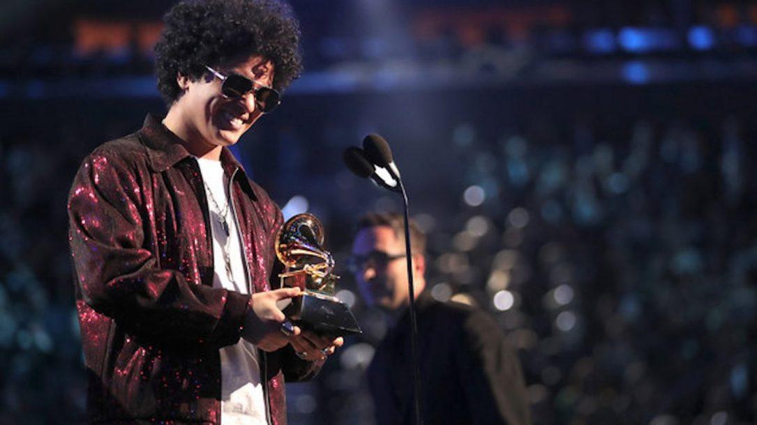 Bruno Mars ai Grammy 2018