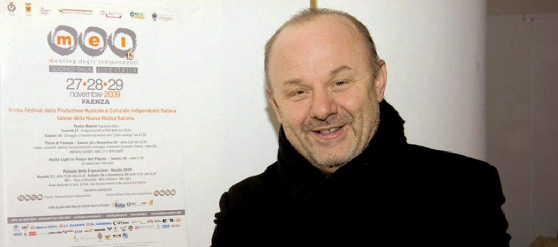 Giordano Sangiorgi, fondatore e direttore artistico del MEI