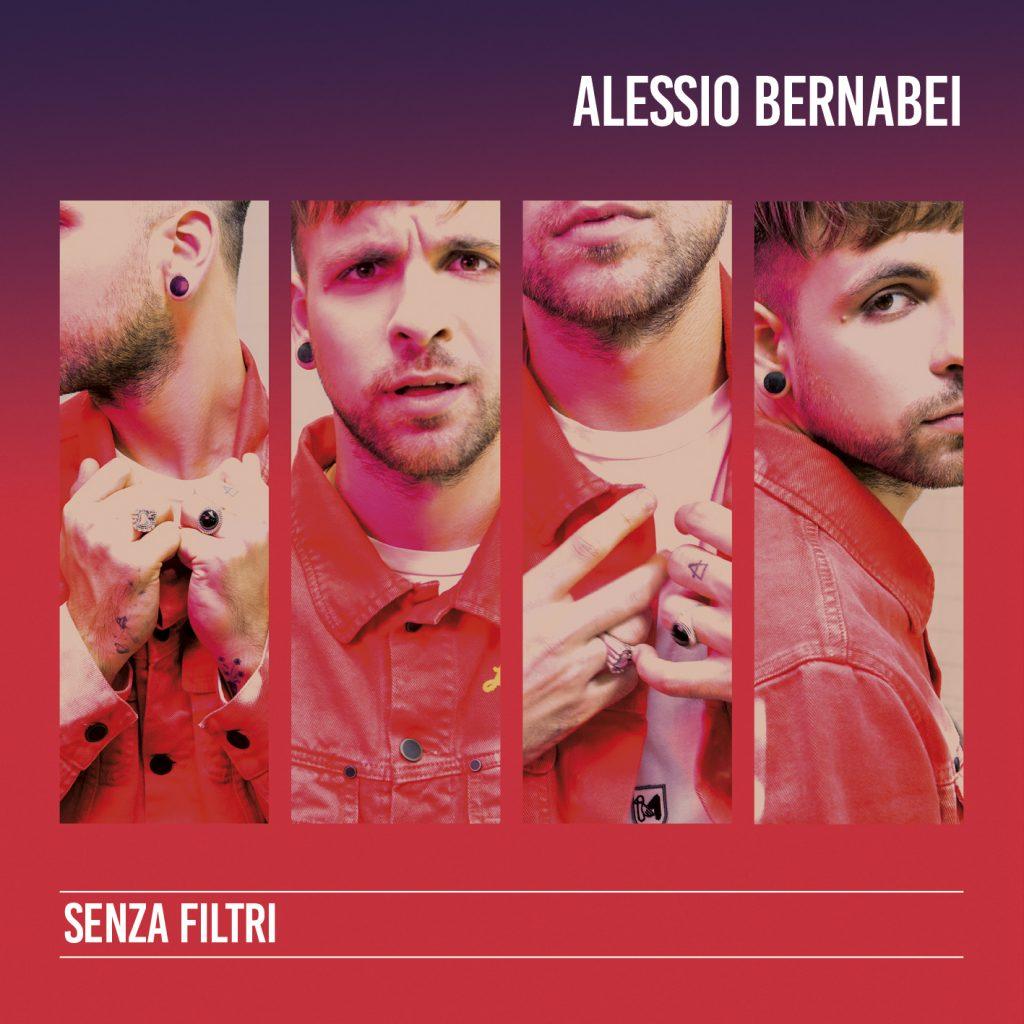 """La cover di """"Senza Filtri"""" di Alessio Bernabei"""