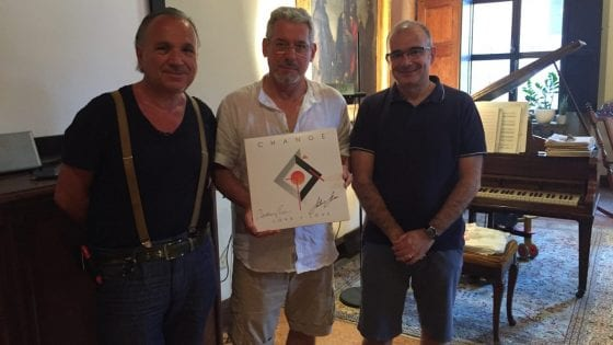 I Change. Da sinistra Mauro Malavasi, Davide Romani e Stefano Colombo