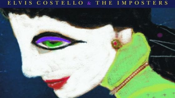 "Un particolare della cover di ""Look Now"" di Elvis Costello & The Imposters"