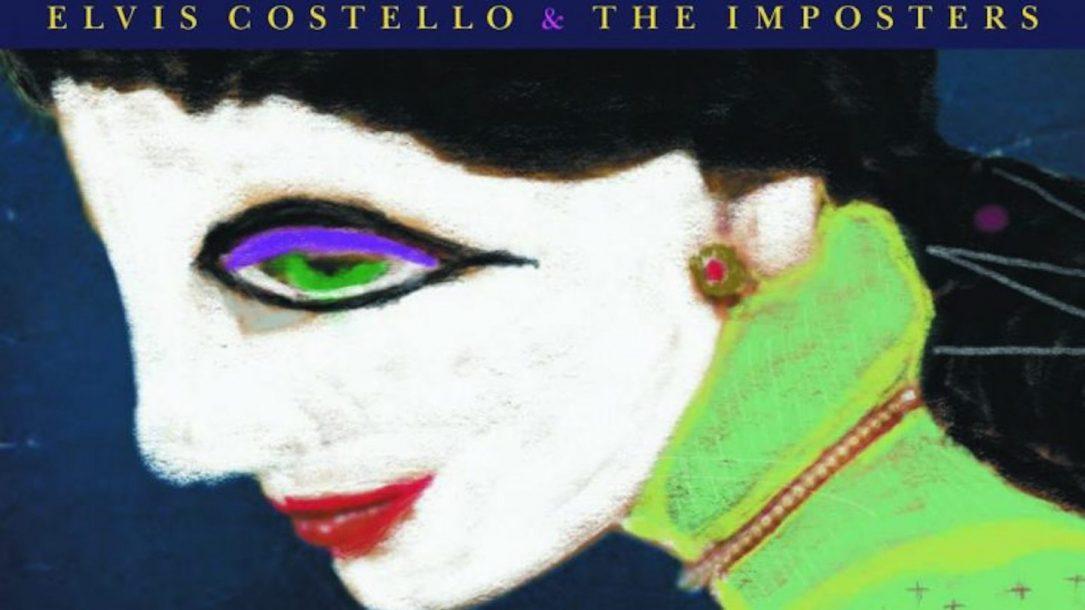 """Un particolare della cover di """"Look Now"""" di Elvis Costello & The Imposters"""