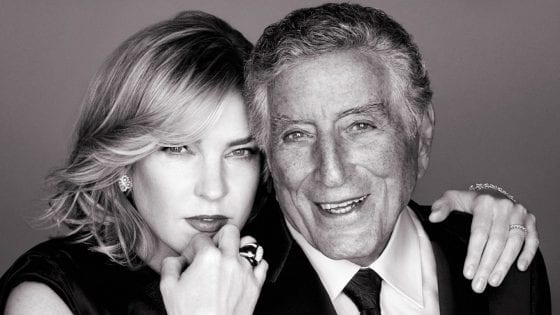 "Un particolare della cover di ""Love is Here to Stay"" di Tony Bennett e Diana Krall"