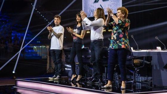 I giudici di X Factor 12 durante le Audizioni