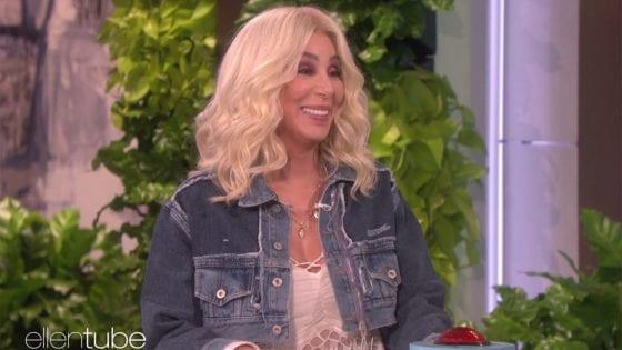 Cher ospite al The Ellen DeGeneres Show ha parlato di Madonna