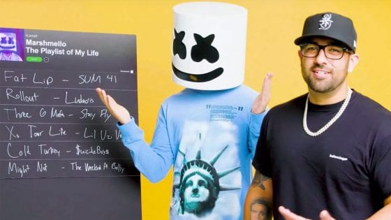Marshmello ha creato la playlist della sua vita