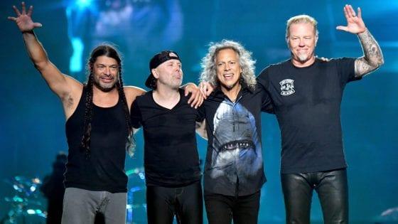 I Metallica live nel 2017