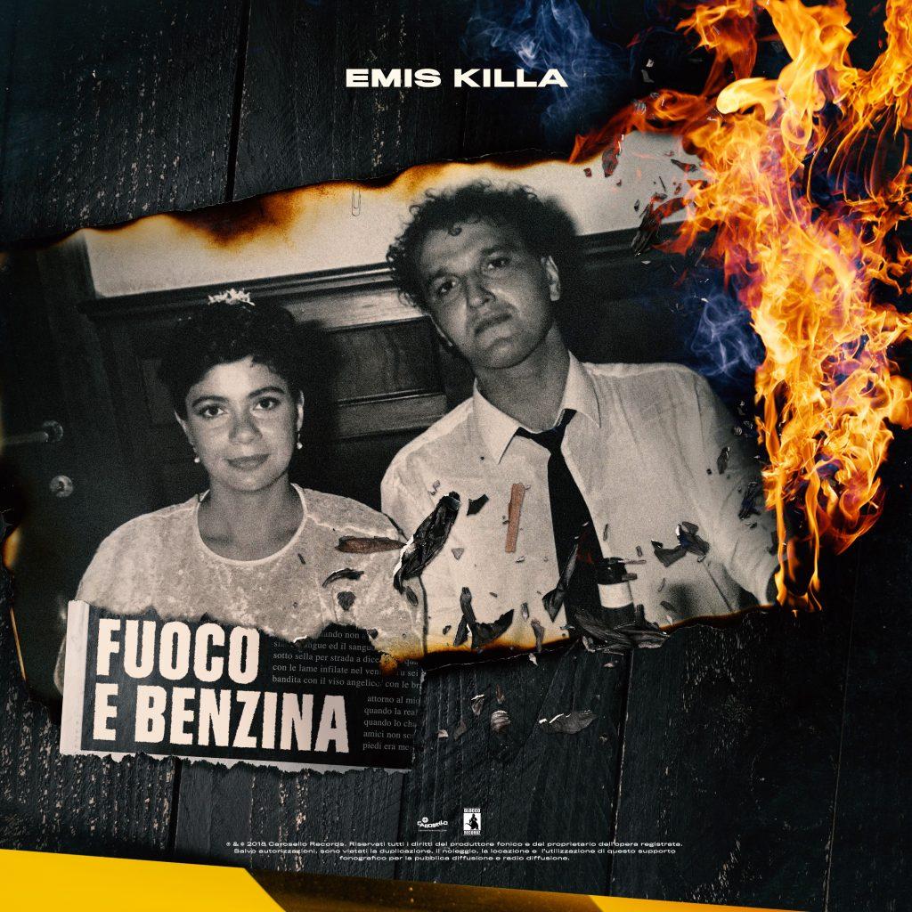 """La cover di """"Fuoco e Benzina"""", il nuovo singolo di Emis Killa"""