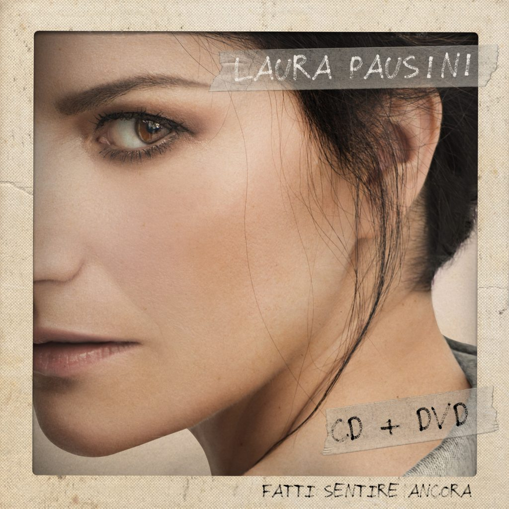 La cover del nuovo progetto di Laura Pausini