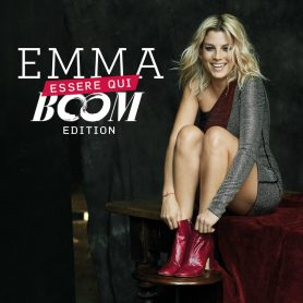 "La cover di ""Essere Qui Boom Edition"" di Emma"