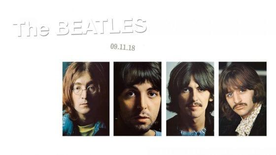 """La cover del 50esimo anniversario del White Album dei Beatles. Alla Milano Music Week 18 arriva lo spettacolo teatrale """"Una vita con i Beatles"""""""