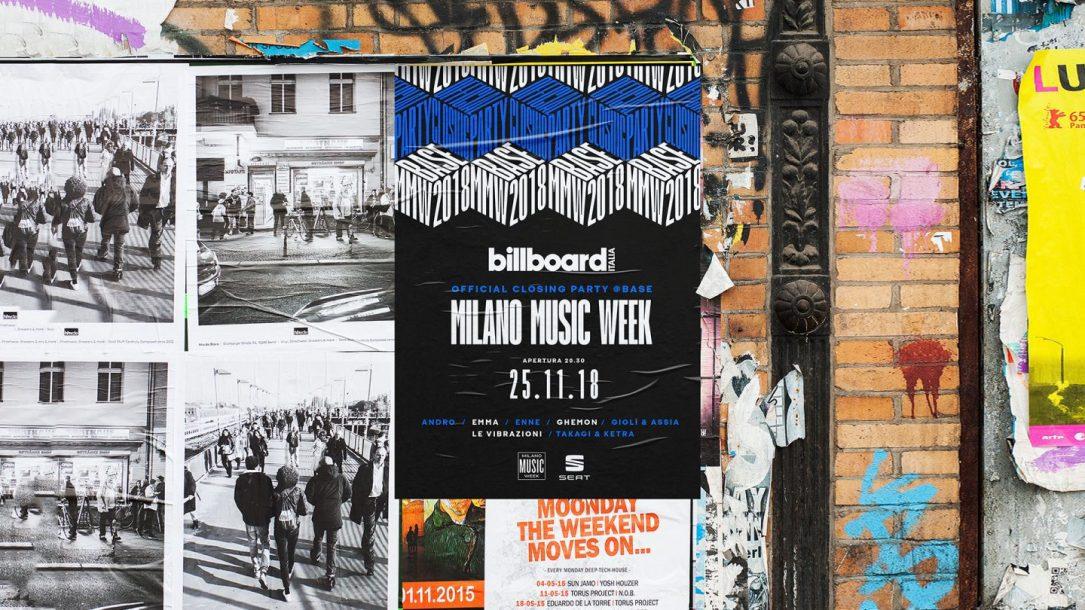Pronti al nostro Party di chiusura della Milano Music Week?