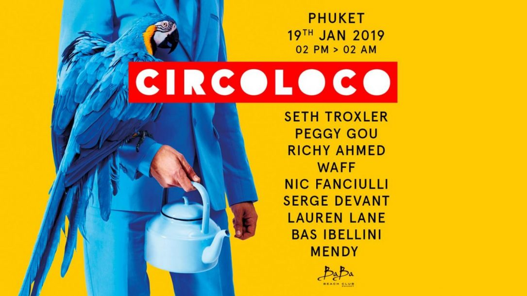 La line up del Circoloco