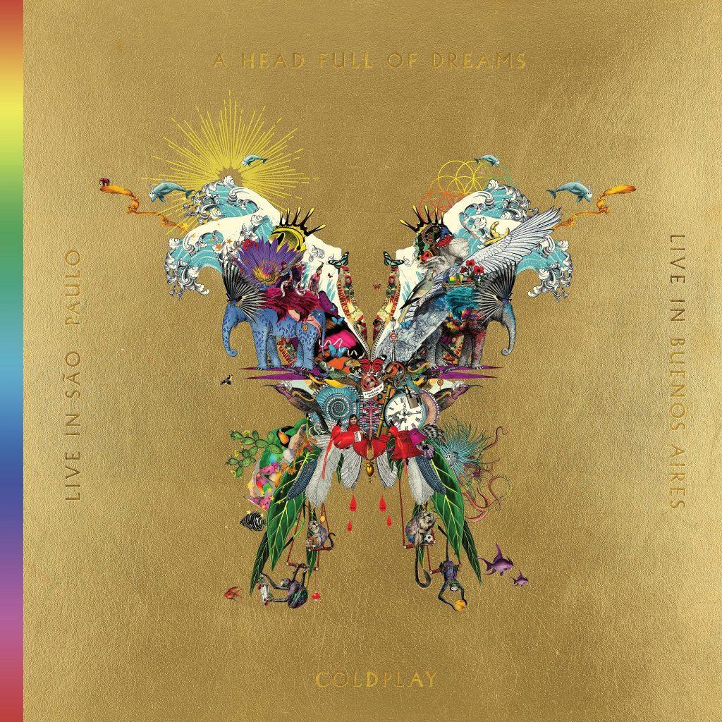 La cover del nuovo progetto dei Coldplay
