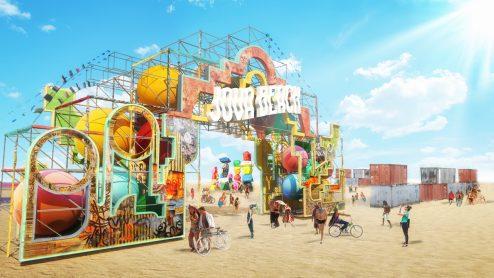 "L'ingresso del ""Jova Beach Party"""